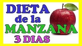 DIETA DE LA MANZANA 3 DIAS Para Adelgazar y Bajar 10 Libras en 3 Dias De Forma Natural Rapido