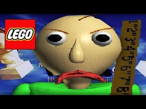 How To Build: LEGO Baldi | Baldi's Basics In Education And Learning