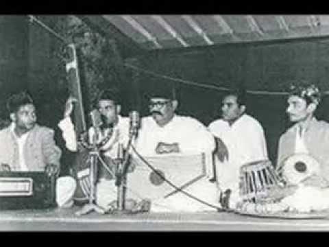 Ustad Bade Ghulam Ali Khan - Thumri Yaad Piya Ki