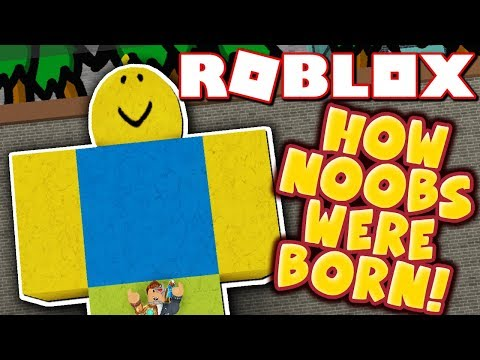 THE STORY OF HOW ROBLOX NOOBS WERE BORN!! *ORIGIN STORY!*