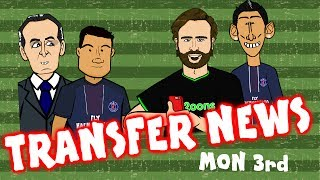 Coutinho to PSG? Lacazette to Arsenal? Di Maria to Inter? TRANSFER NEWS #11 July 3rd