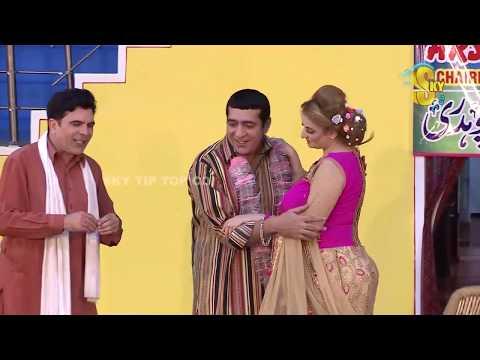 Zafri Khan and Iftikhar Thakur Stage Drama Budhay Shararti 2 Full Comedy Clip 2019