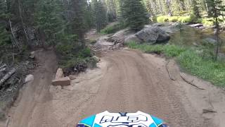 Bighorn Mountains trail 430 on a Yz250