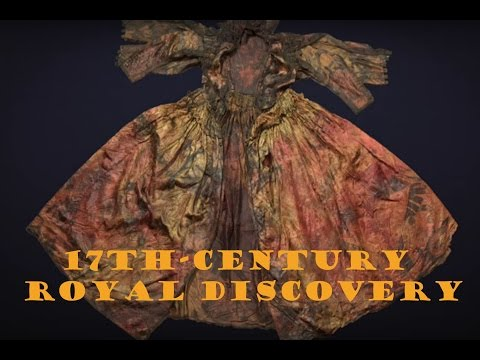 Thumbnail: 17th-century dress recovered from shipwreck