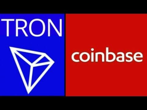 TRX TRON Coinbase Listing Huge Events Cryptocurrency #TRON Price Prediction