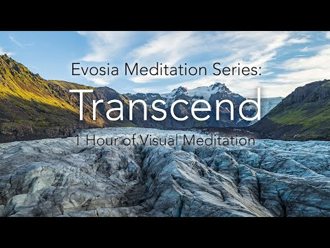 Transcend: 1 Hour Of Iceland By Air - Relaxing Meditative Experience