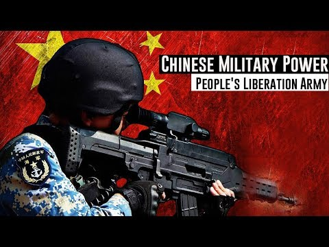 "Chinese Military Power 2018 • People's Liberation Army •"" Who is willing to take the risk? """