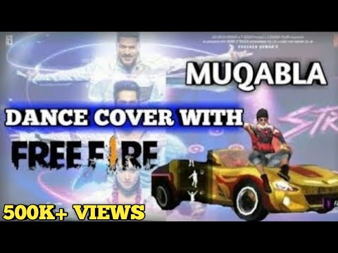 MUQABLA SONG WITH DANCE COVER FREE FIRE || MUQABLA FREE FIRE VERSION || UNIQUE GAMER😎😎