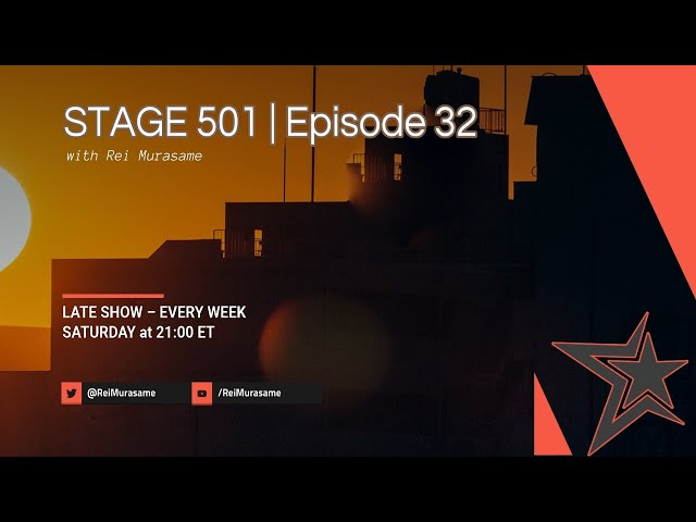 STAGE 501 | Episode 32 'Catching up with Captain Swiss'