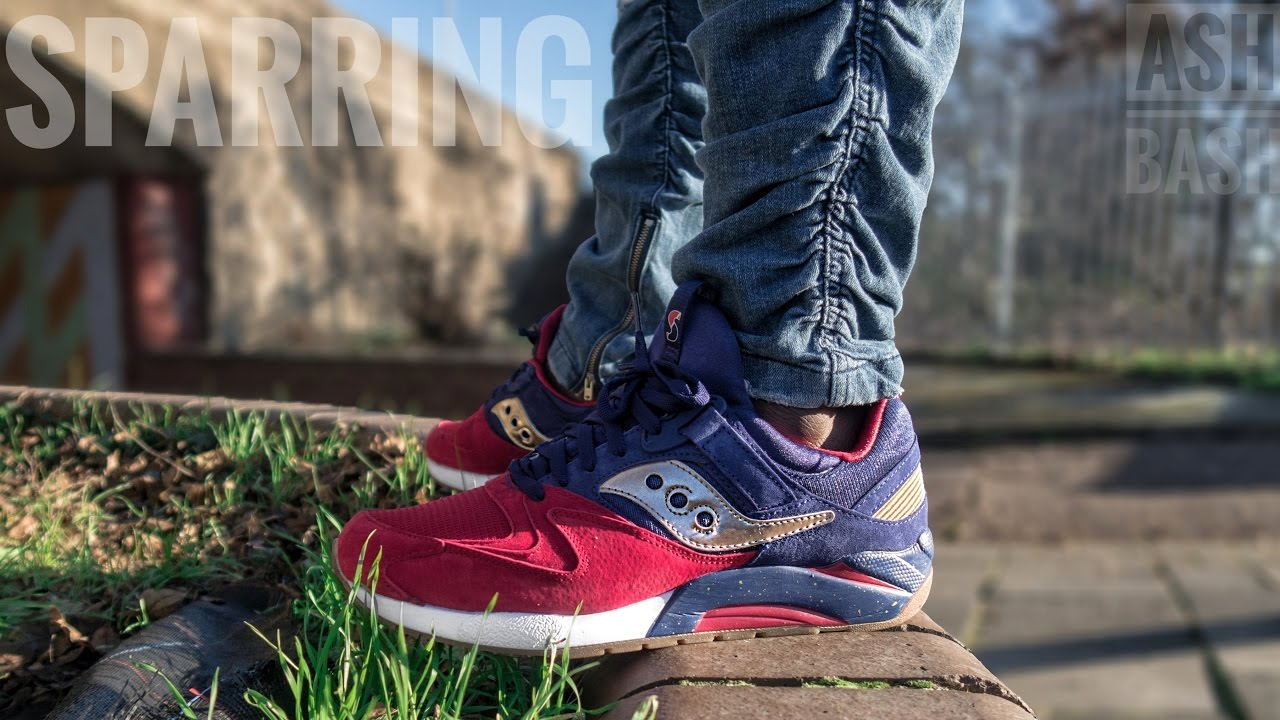 59dc8d0a Saucony Grid 9000 | Sparring with Saucony Sneaks | Review + On Foot | Ash  Bash