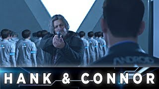 Detroit: Become Human - Connor and Hank at Cyberlife Tower (All Options)