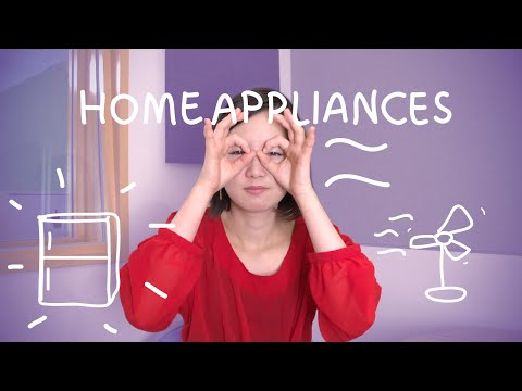Weekly Japanese Words with Risa - Home Appliances (Việt Sub)