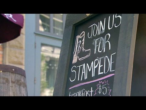 Calgary businesses pins hopes on Stampede