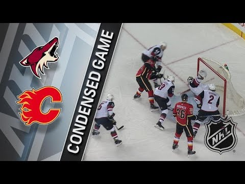 Arizona Coyotes vs Calgary Flames - November 30, 2017 | Game Highlights | NHL 2017/18. Обзор матча