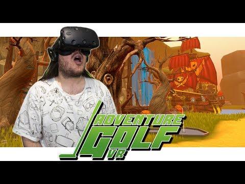 Adventure Golf VR - FANTASY - HTC Vive