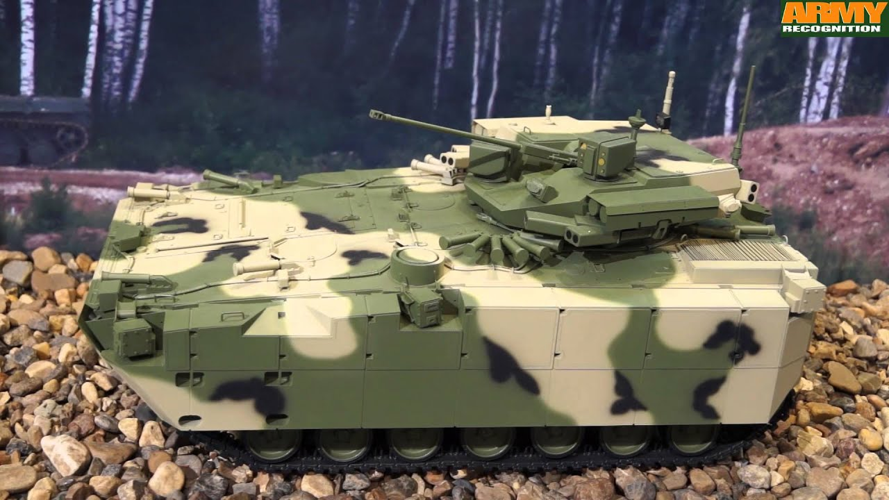 Kurganets-25 BMP BTR ARV Russian tracked armored personnel carrier IFV  infantry fighting vehicle