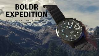 Boldr Expedition - Swiss Automatic Watch For Adventure