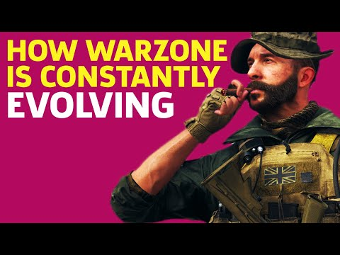 How Call Of Duty Warzone Is Constantly Evolving