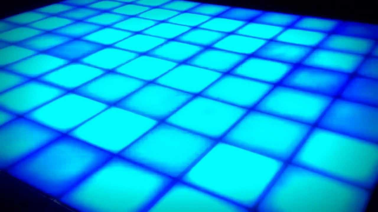 idesign led dance floor intelligent lighting design austin