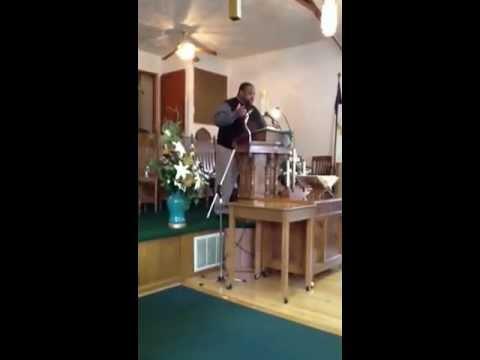 Pastor-Elect Deon Garner