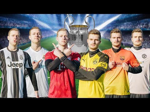 ULTIMATIVE Champions League FUßBALL CHALLENGE