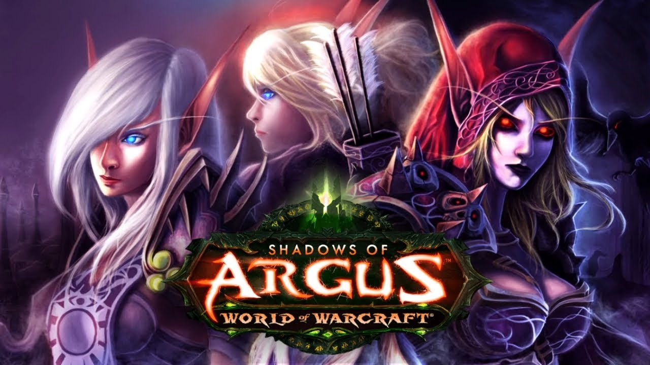 WoW Legion 🌟 Alleria Learns that Sylvanas Leads the Horde - Patch 7.3