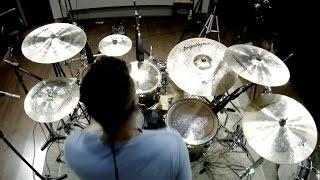 Gambar cover Junior Sanchez (Abba'Jour) tocando e testando os pratos Anatolian (Gospel Drummer)