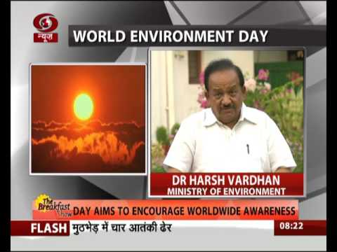 Environment Minister's message on the occasion of the World environment day