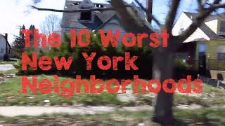 These are the 10 WORST Neighborhoods to Live in New York City