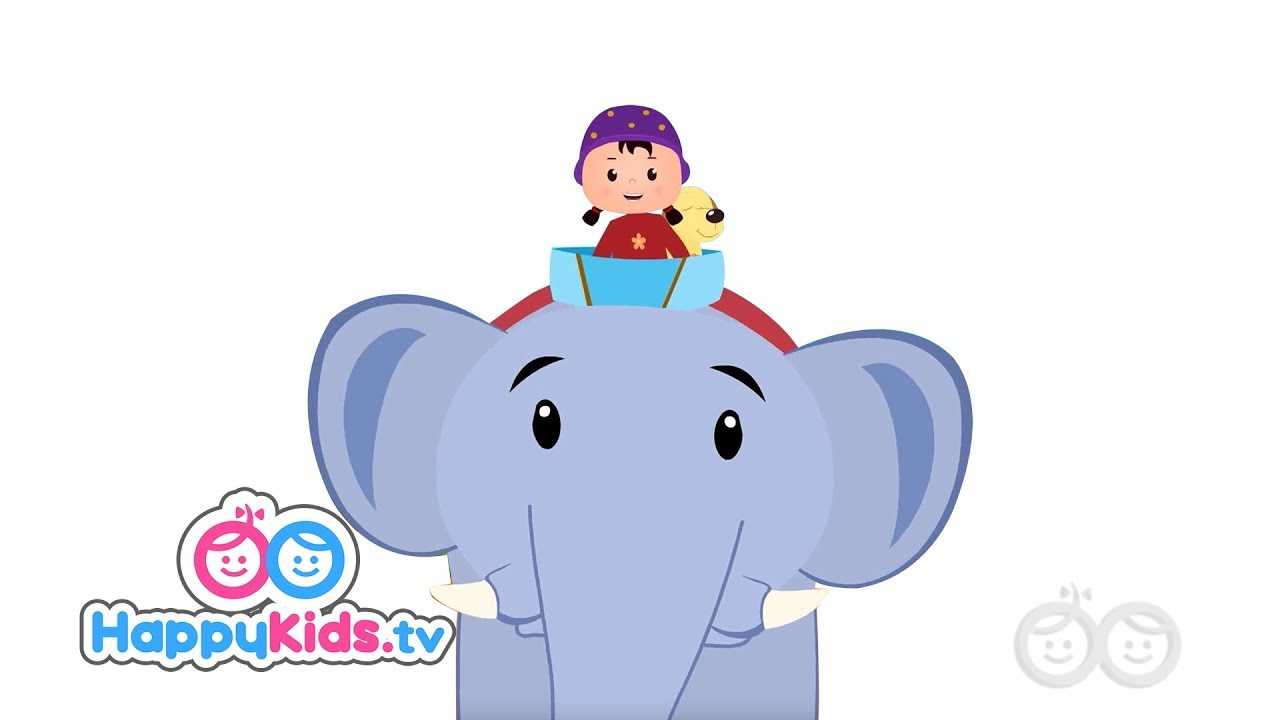 03e44201b Ellie The Elephant - Nursery Rhymes For Kids And Children