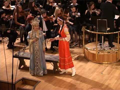 """""""The Snow Maiden"""" Rigina Valieva sings Kupava of Rimsky-Korsakov スネグーラチカ オペラ"""