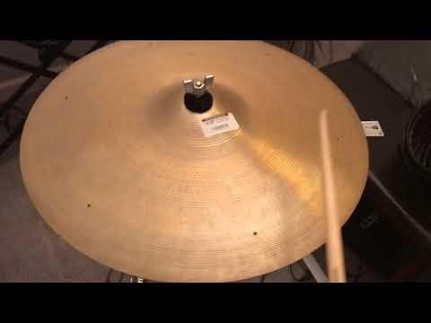 Zildjian 1700g 50s Ride Demo