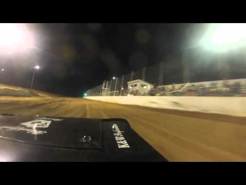 92 Pure Stock Heat Race at Northwest Florida Speedway April 2, 2016