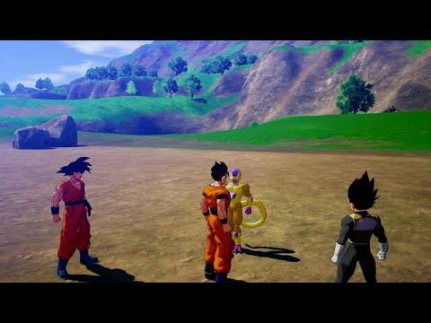 Dragon Ball Z: Kakarot - A New Power Awakens Part 2 - Gohan vs Golden Frieza - Lvl 300 Gameplay |