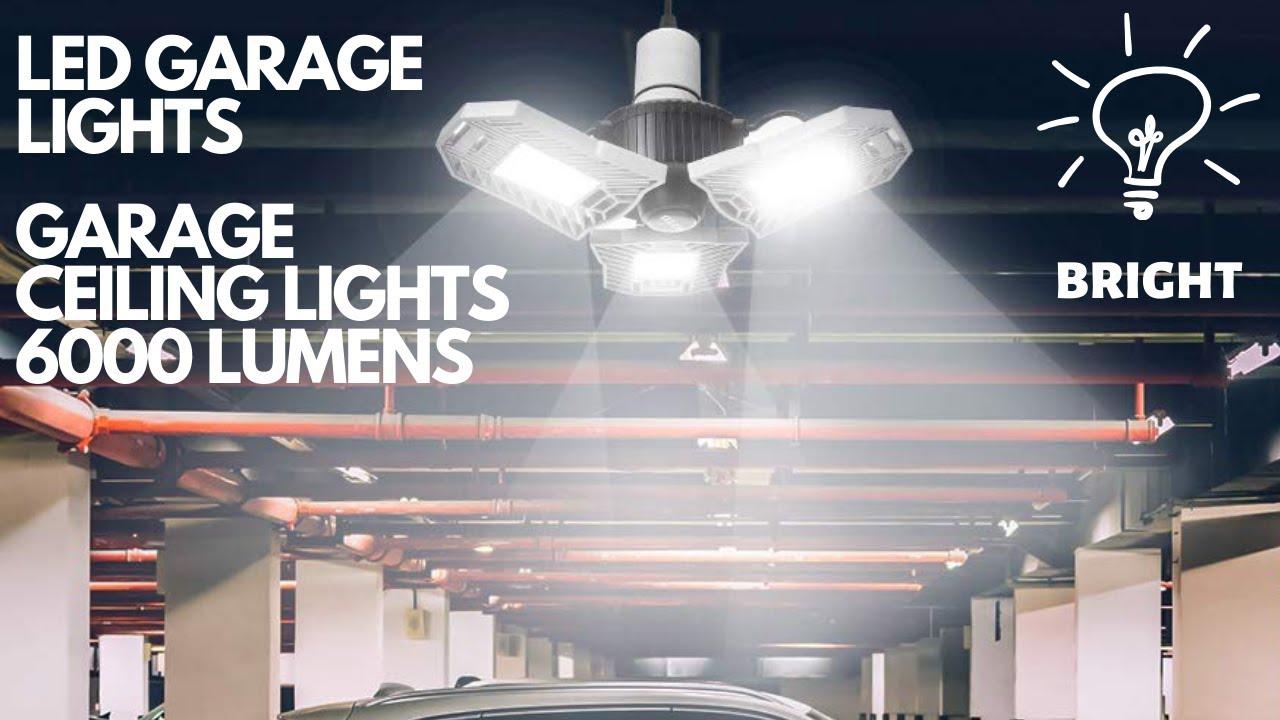 Led Garage Ceiling Lights 6000 Lumens