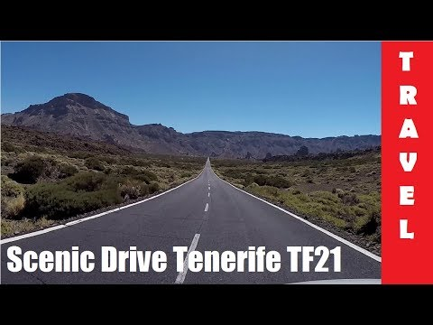 Road to Teide, Tenerife 2016 | Scenic Drive from Puerto to Vilaflor