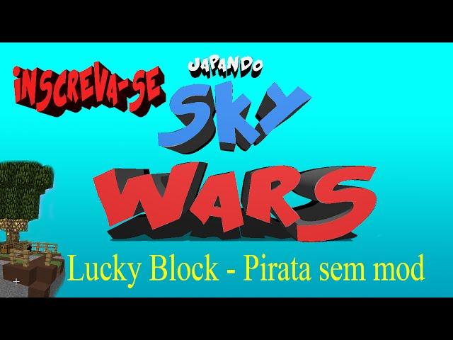 Minecraft Server SkyWars Lucky Block Pirata! Sem Mod. 1.7.X