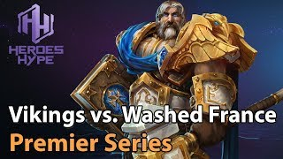 ► Heroes of the Storm: Washed France vs. The Vikings - HeroesHype Premier Series