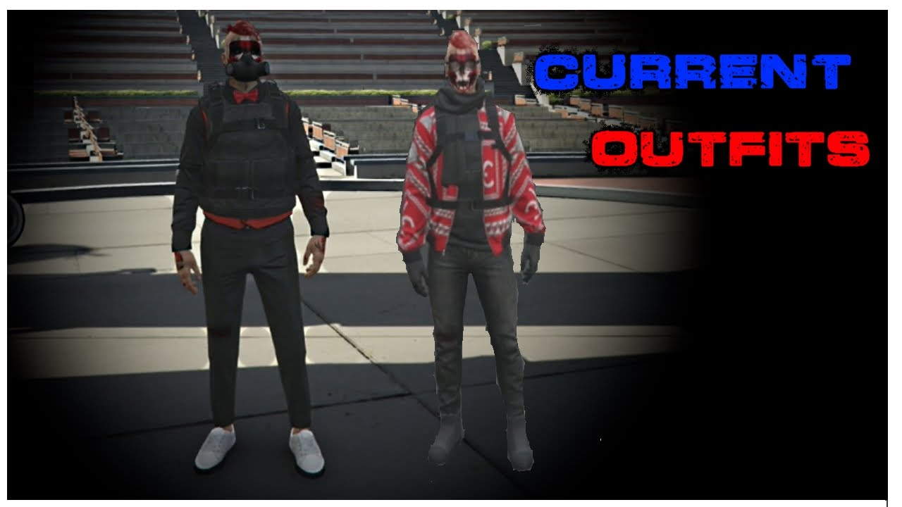 """gta 5 online"" my ten current outfits  youtube"