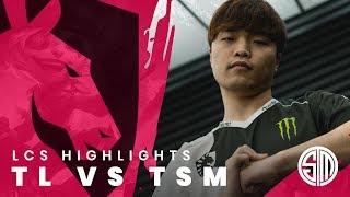 Team Liquid LoL | W1 Day 1 - TL vs TSM Highlights