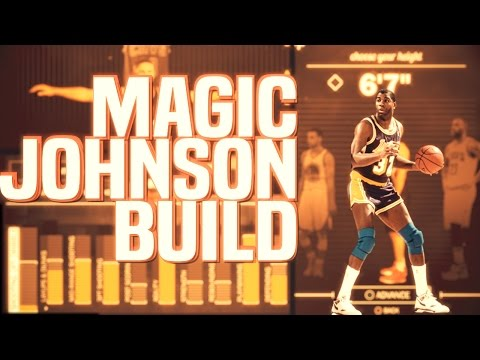 NBA 2K17 - NEW 6'7 PG PLAYMAKER BUILD!! MAGIC JOHNSON LIKE FAST AND TALL!!