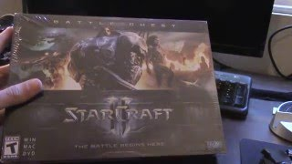 Starcraft II Battle Chest Unboxing [HD]