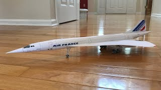 Air France Concorde Papercraft