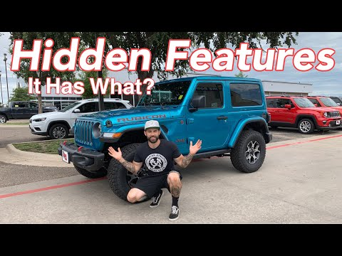 5 Hidden Features of The New 2019 Jeep Wrangler JL