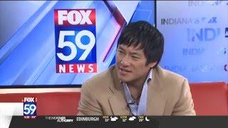 Fanchon Stinger interviews Eugene Lee, Fox 59