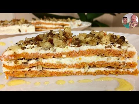 Легкий рецепт Самый Полезный Торт Морковный Торт