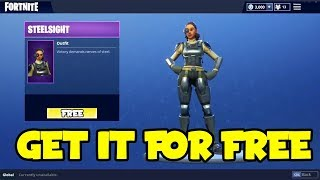 *NEW* How To Get Steel Sight Skin For Free On Fortnite Battle Royale! (Skin Giveaway)