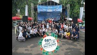 66 thn HUT TEL  SMA 3 TELADAN JAKARTA