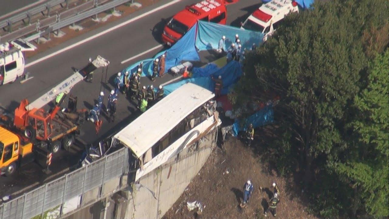 高速バス事故7人死亡 群馬・藤岡...
