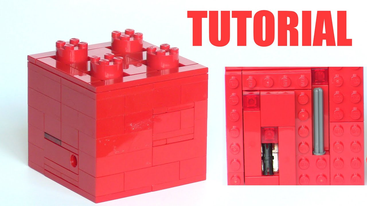 How to make a Lego Puzzle Box!